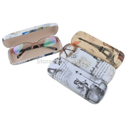1PC Optical Case Protable Floral Sunglasses Hard Eye Glasses Case Eyewear Protector Box Pouch Bag