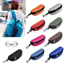 1Pcs Sunglasses bags Reading Glasses Carry Bag Hard Zipper Box Travel Pack Pouch Case