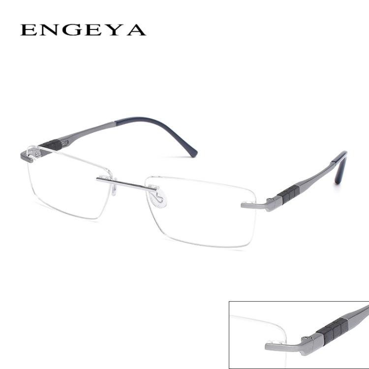 c0641fd21976 ... Eyeglasses Men Source · 2016 ENGEYA Super Light Titanium Alloy  Prescription Glasses Frame Retro Clear Optical Rimless Eye Glasses Frames