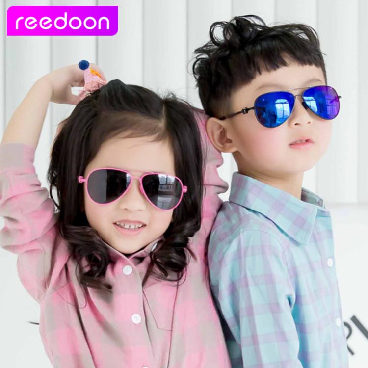 3265ba16a67 2016 New Fashion Children Sunglasses Boys Girls Kids Baby Child Sun Glasses  Goggles UV400 mirror glasses Wholesale Price 2611Kid s Sunglasses