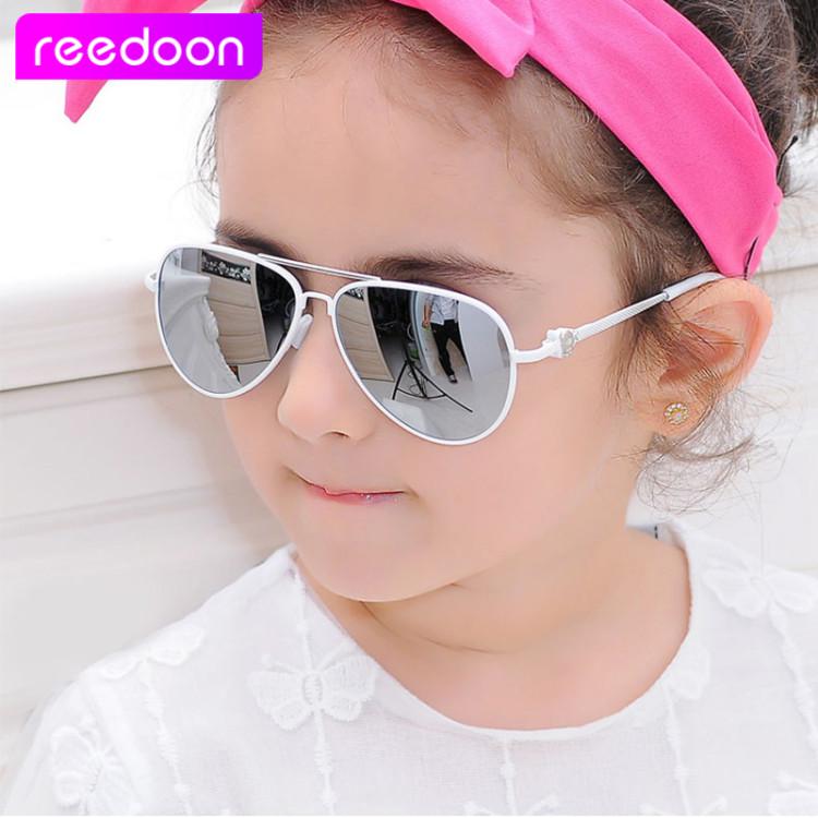 10204774f79 2016 New Fashion Children Sunglasses Boys Girls Kids Baby Child Sun Glasses  Goggles UV400 mirror glasses Wholesale Price 2611Kid s Sunglasses