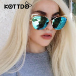 2017 Classic Cat Eye Metal Women Sunglasses Brand Designer Retro Vintage Glasses Sunglasses Women Mirror Rose Gold Oculos de sol