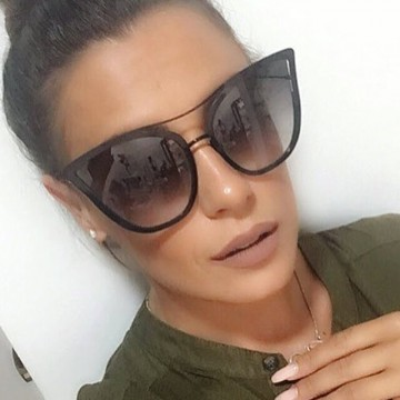 2017 Fashion Sunglasses Women Luxury Brand Designer Sun Glasses Ladies For Female UV400 Shades Points Lunettes Oculos YQ250