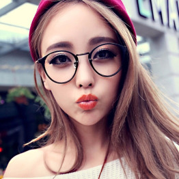 2017 Men Women Retro Nerd Glasses Clear Lens Eyewear Unisex Retro Eyeglasses Spectacles