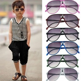 2017 New Fashion Children Sunglasses Boys Girls Kids Baby Child Sun Glasses Goggles UV400 mirror glasses Wholesale Price