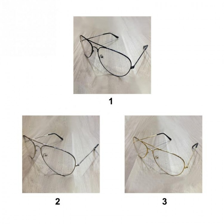 7ea1c375463 2017 Unisex Big Round Gold Metal Frame Glasses Oversize Clear lens Vintage  Retro Chic Eye Elegant Women Men GlassesGlasses Frames