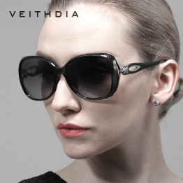 2017 VEITHDIA Retro TR90 Sun glasses Polarized Luxury Ladies Brand Designer Women Sunglasses Eyewear oculos de sol feminino 7022