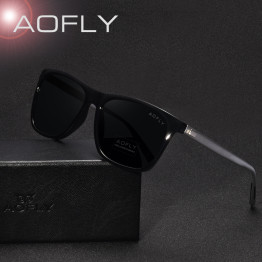 AOFLY Classic Polarized Sunglasses Fashion Style Sun Glasses for Men/Women Vintage Brand Design oculos de sol masculino UV400