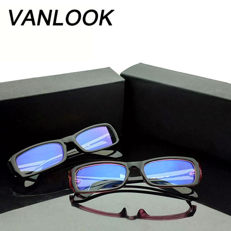 c0c7e92e72 Anti Blue Ray Computer Glasses Spectacle Frame Oculos de Grau Female  Transparent Eyeglasses for Women Men Blue Coating AntiglareGlasses Frames