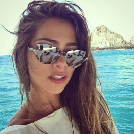 BOYEDA New 2017 Cat Eye Sunglasses Women Brand Designer Fashion Retro UV400 Vintage Half Frame Sun Glasses for Women Eyeglasses