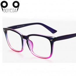 BOYEDA New Eyeglasses Men Women Suqare Brand Designer Eyewear Frame Optical Computer Female Transparent Eye Glasses Frame Oculos