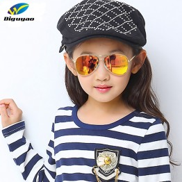DIGUYAO 2016 New Fashion Boys Kids Sunglasses Aviator Style Brand Design Children Sun Glasses 100%UV Protection Oculos De Sol Ga