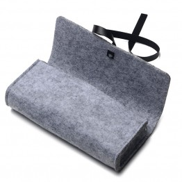 DRESSUUP Top-grade Exquisite Felt Cloth Sunglasses Boxes High Quality Luxury Fabric Glasses Case Gray/Rose/Orange/Pink/Green