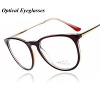 Fashion Black Retro Eyeglasses Men Women Vintage Metal Optical Glasses Frame Reading Glasses Myopia Eye Glasses Frame Oculos