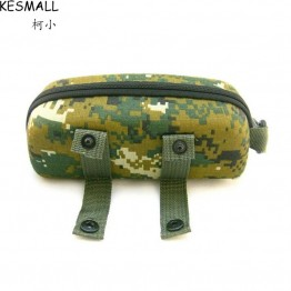 Fashion Camouflage Sunglasses Case For Women Men Outdoor Glasses Box EVA Eyeglasses Cases Mens Eyewear Oculos Accessories YJ210