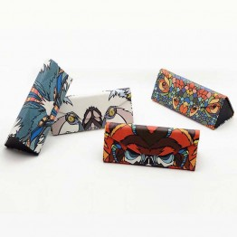 Fashion Handmade Sunglasses Case Box Eye Accessories Spectacle-Case Brand Design Animal Folding Eyeglass Case