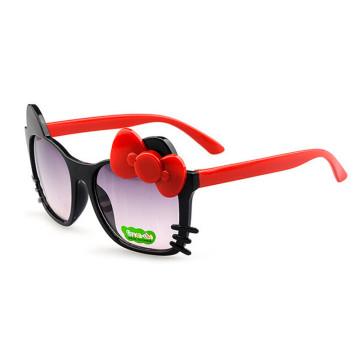Fashion Kids Sunglasses Children Girls Bow Cartoon Cat Shades Eyeglasses Plastic Frame Glasses Gafas Oculos32798679585