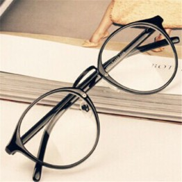 Fashion Men Women Retro Nerd Glasses Clear Lens Eyewear Unisex Retro Eyeglasses Spectacles
