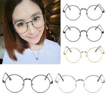 Fashion New Retro Round Mens Womens Nerd Glasses Clear Lens Eyewear Unisex Retro Eyeglasses Spectacles Unisex Oculos32726773014