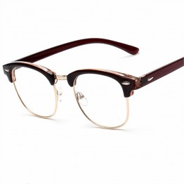 Fashion Optical Glasses Spectacle Frame For Men Women Glasses With Clear Eye Glass Male Female Clear Transparent Glasses Myopia