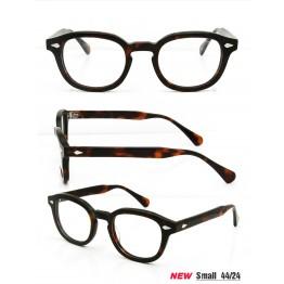 High Quality  2 Size Johnny Depp Style Glasses Men Retro Vintage Prescription Glasses Women Optical Spectacle Frame Round