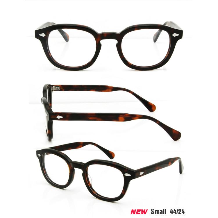 High Quality 2 Size Johnny Depp Style Glasses Men Retro Vintage ...