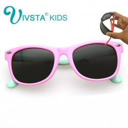 IVSTA Kids Sunglasses Girls Glasses Frame Children Sunglasses Baby for Child Summer 2017 Polarized UV400 Kids Sunglasses Boys