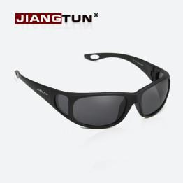 JIANGTUN Hot Polarized Sunglasses Polaroid Glasses Side Window Design Driving Sunglass Anti-UV Oculos De Sol Masculino Pesca