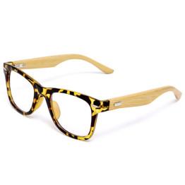 Japan Handmade Natural Bamboo Glasses Frame Clear Lens For Women Men Vintage Myopia Eye Glasses Frames Wooden Spectacle Frame