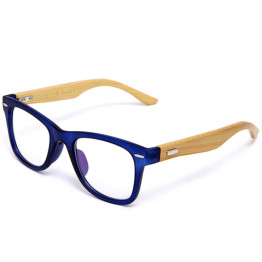 02be1009261 Japan Handmade Natural Bamboo Glasses Frame Clear Lens For Women Men  Vintage Myopia Eye Glasses Frames