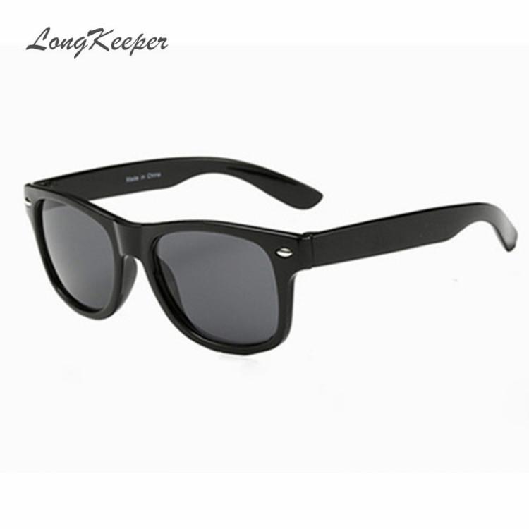 06835afc02ab LongKeeper Cool Sunglasses for Kids Brand Design Sun Glasses for Children  Boys Girls Sunglass UV 400 Protection Rivet oculosKid s Sunglasses