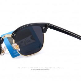 MERRY'S Men Retro Rivet Polarized Sunglasses 2016 Classic Brand Designer Unisex Sunglasses UV400 Fashion Male Eyewear