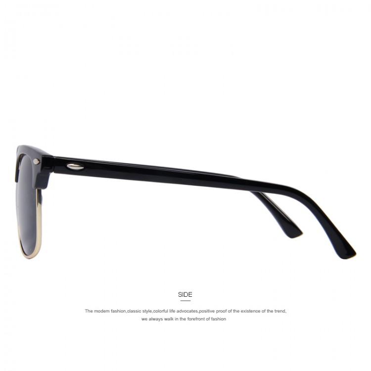 13b29a35916c MERRY'S Men Retro Rivet Polarized Sunglasses 2016 Classic Brand Designer  Unisex Sunglasses