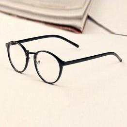 Mens Womens Nerd Glasses Clear Lens Eyewear Unisex Retro Eyeglasses Spectacles