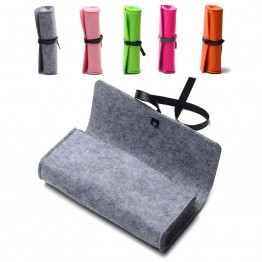 New Felt Sunglasses Case For Women Colorful Candy Eyeglasses Box Soft accessoires lunettes de vue fundas para gafas de sol