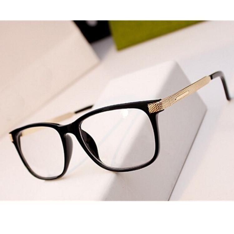 267d7dae3daa New Women Eyeglasses Retro Vintage Optical Reading Spectacle Eye Glasses  Frame Men Women Brand Designer Oculos De Grau FemininosGlasses Frames