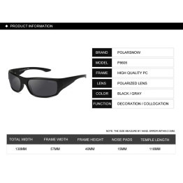 POLARSNOW 2017 Polarized New Sun Glasses Men Top Quality Male Sunglasses Sport Eyewear Brand Design UV400 Men's Oculos