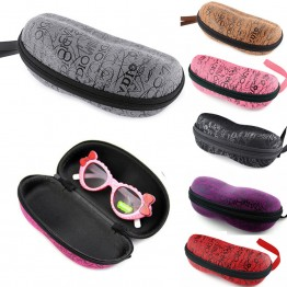 Portable Protector eyeglass case sunglasses box Container Holder Zipper glasses Hard Case Eyewear Box Shell Cover Pouch Bag W1