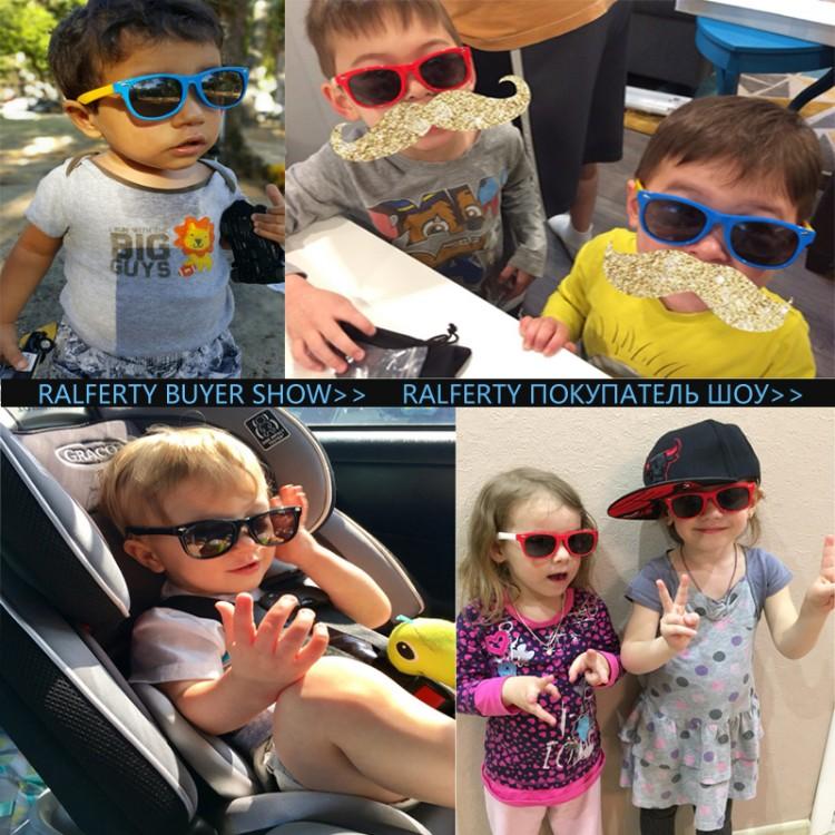 634fcfcf25f1 Ralferty TOP Polarized Kids Sunglasses Boys Girls Baby Infant Sun Glasses  100 UV400 Eyewear Child Shades Oculos Infantil 21513Kid s Sunglasses