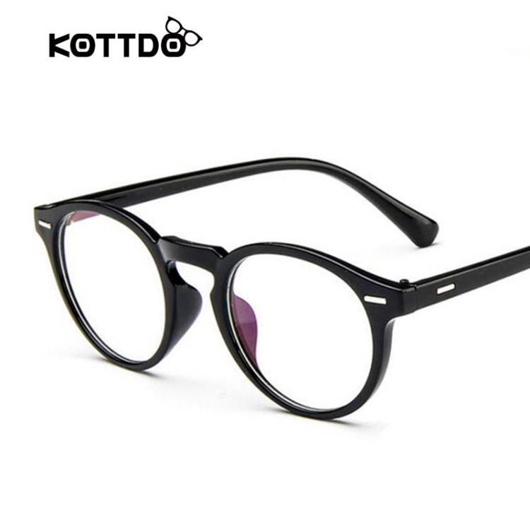 686353f3a3a2 Retro Round Eyeglasses Frame Brand For Women Fashion Men Optical eye  glasses Frame Eyewear Oculos De Grau Armacao FemininosGlasses Frames