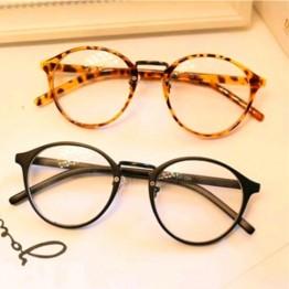 Retro Round Reading Eye Glasses Frame Men Women Vintage Computer Myopia Eyeglasses Frame Brand Glasses Oculos De Grau Femininos