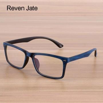 Reven Glasses Men and Women Unisex Wooden Pattern Fashion Retro Optical Spectacle Eyeglasses Glasses Frame Vintage Eyewear32806319398
