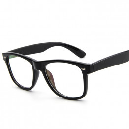 SOZO TU New Classical Superstar Style Rivet Eyewear Frame Men Women Optical Eyeglasses Computer Glasses Spectacle Frame Oculos