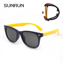 SUNRUN Kids Polarized Sunglasses Classic Baby Children  TR90 Safety Coating Glasses Sun UV 400 Protection S886