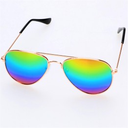 Sunglasses Children's Sun glasses Boys Girls Kids Baby 2017 Child Sun Glasses Goggles UV400 Mirrored Glasses Wholesale
