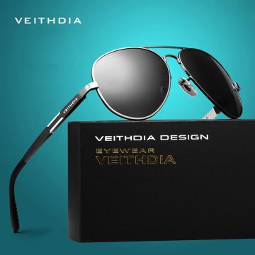 VEITHDIA Aluminum Magnesium Men's Sunglasses Polarized Sun Glasses Male Classic Eyewears Accessories Men Oculos de grau 66951777368669
