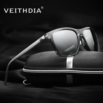 VEITHDIA Unisex Retro Aluminum+TR90 Polarized Mens Sunglasses Brand Designer mirror Vintage Driving Sun Glasses for Women shades32621537802
