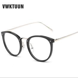 VWKTUUN Newest Goggles Cat Eye Eyeglasses Frame Vintage Glasses Women Men Glasses Frame Optical Frame Glasses Oculos Femininos