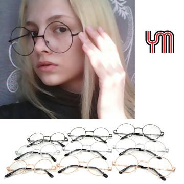 YM Kids Vintage Round Sunglasses Women Men Steampunk Glasses Gradient Lenses Fashion Goggles Hippie Shades Lennon Ozzy 030-263B32621801585