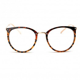 men women unisex  Vintage Decoration Optical Eyeglasses Frame myopia round metal spectacles eye glasses oculos de grau eyewear